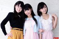 階戸瑠李×永井里菜×池田裕子 ミスFLASH2013トリプルリリース!!!