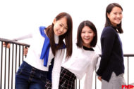 星野莉々翔&小川あん&里於奈 女優養成プロジェクト公演に挑む3人娘