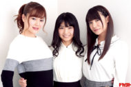 """北出ゆい&永井里菜&星乃まおり """"新生""""G☆Girlsニューシングルをリリース"""