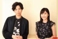 桐山漣&佐野ひなこ 最新CGを駆使したアクションも見どころ!広井王子氏の原作による連続ドラマで共演!!