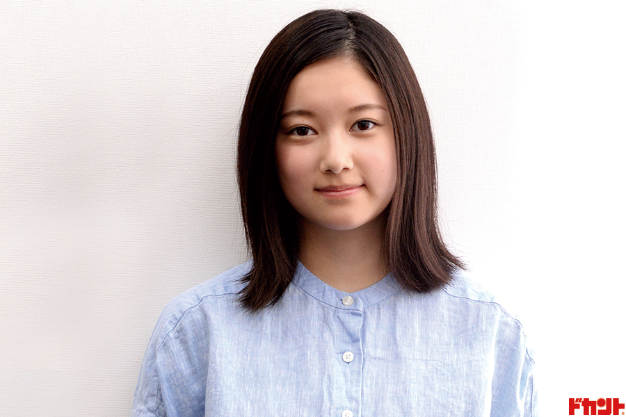 越後はる香 主人公の少女時代役で映画デビュー
