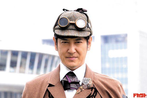 田中直樹(ココリコ) 俳優としても大活躍の人気芸人が謎のイケメン名探偵役でスーパー戦隊作品に