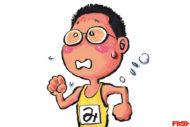 みやすのんき あの『やるっきゃ騎士』の漫画家がランニング著書を次々と発表中!