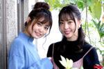 ドカント19年1月号先出し情報 196号 vol.5 前田亜美&藤江れいな